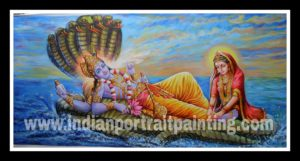 Hand painted oil painting on canvas