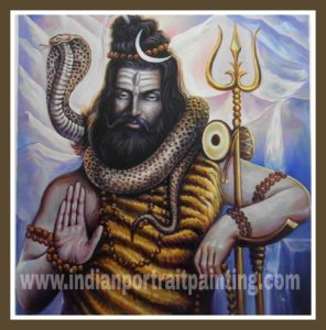 Custom oil painting india