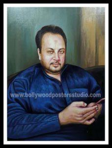 Realistic oil portrait paintings