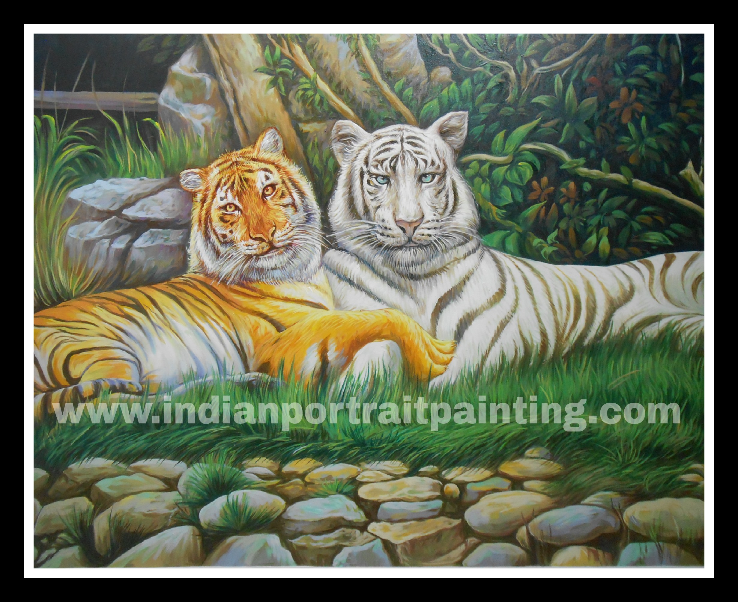 Oil canvas paintings makers