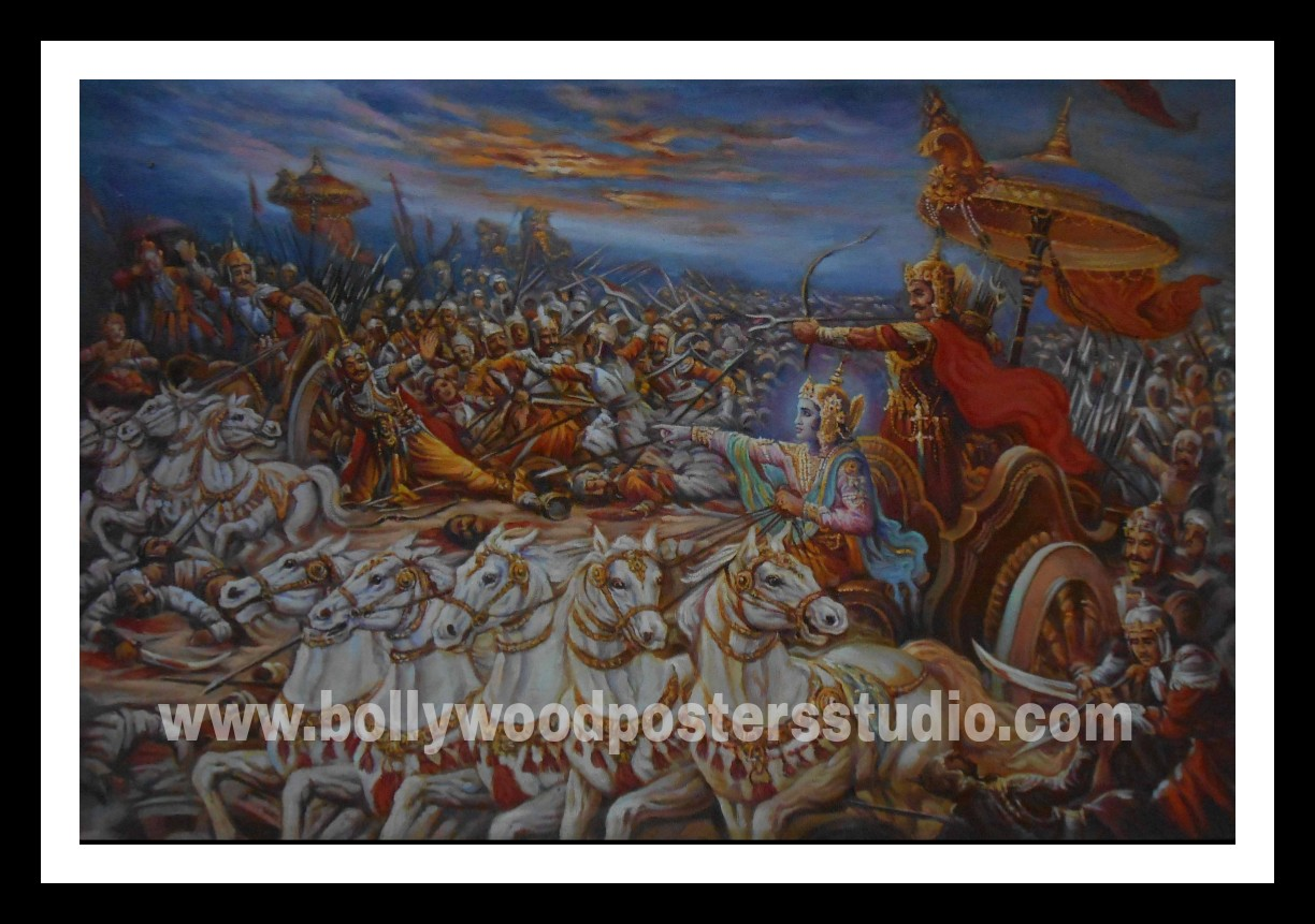 Oil paintings india