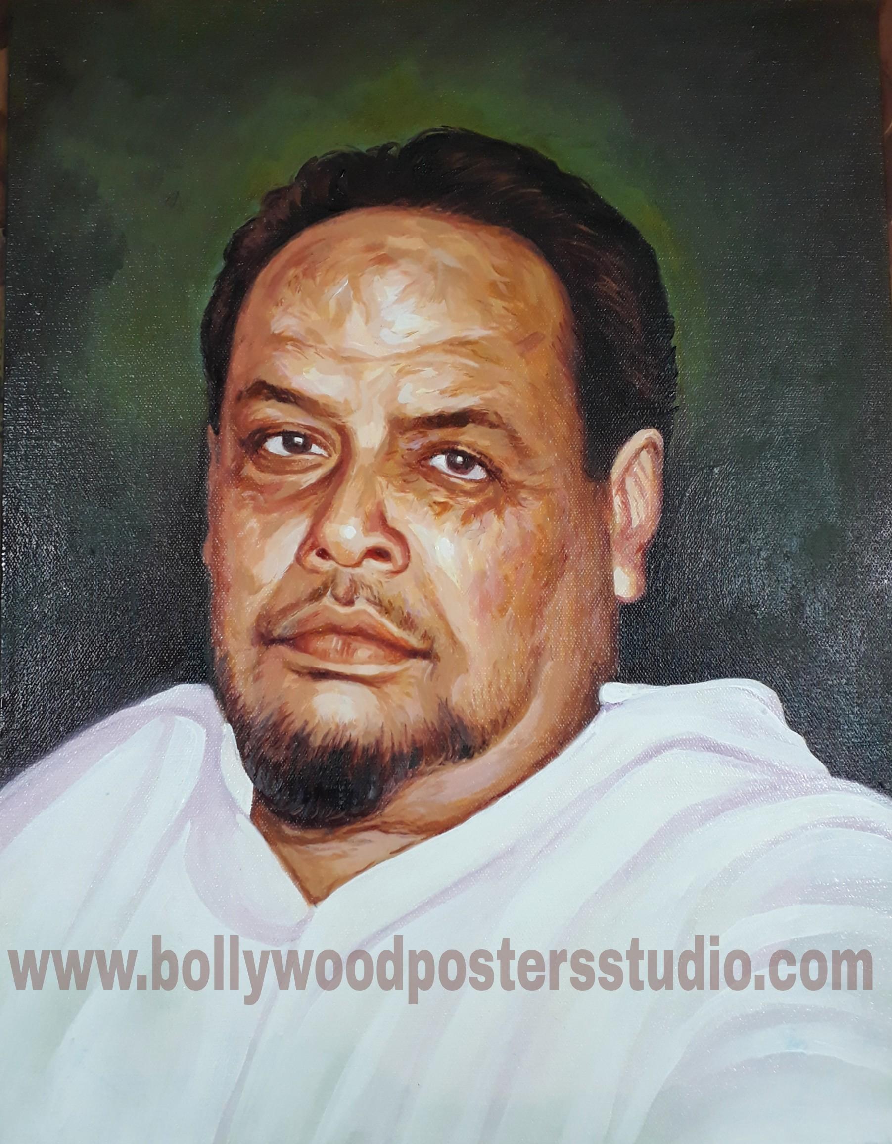 Oil portrait painting painters