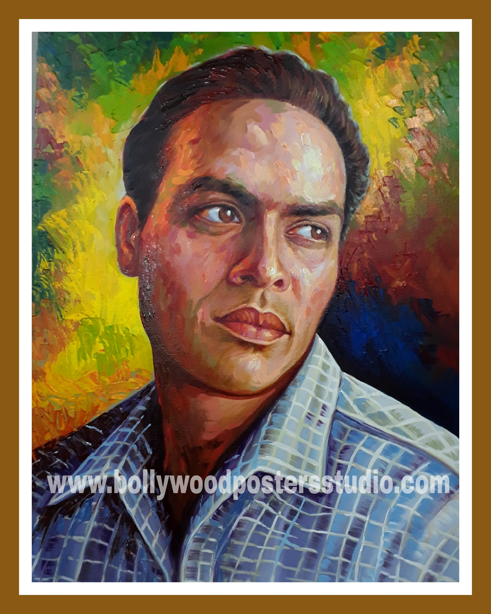 Portrait painting artists