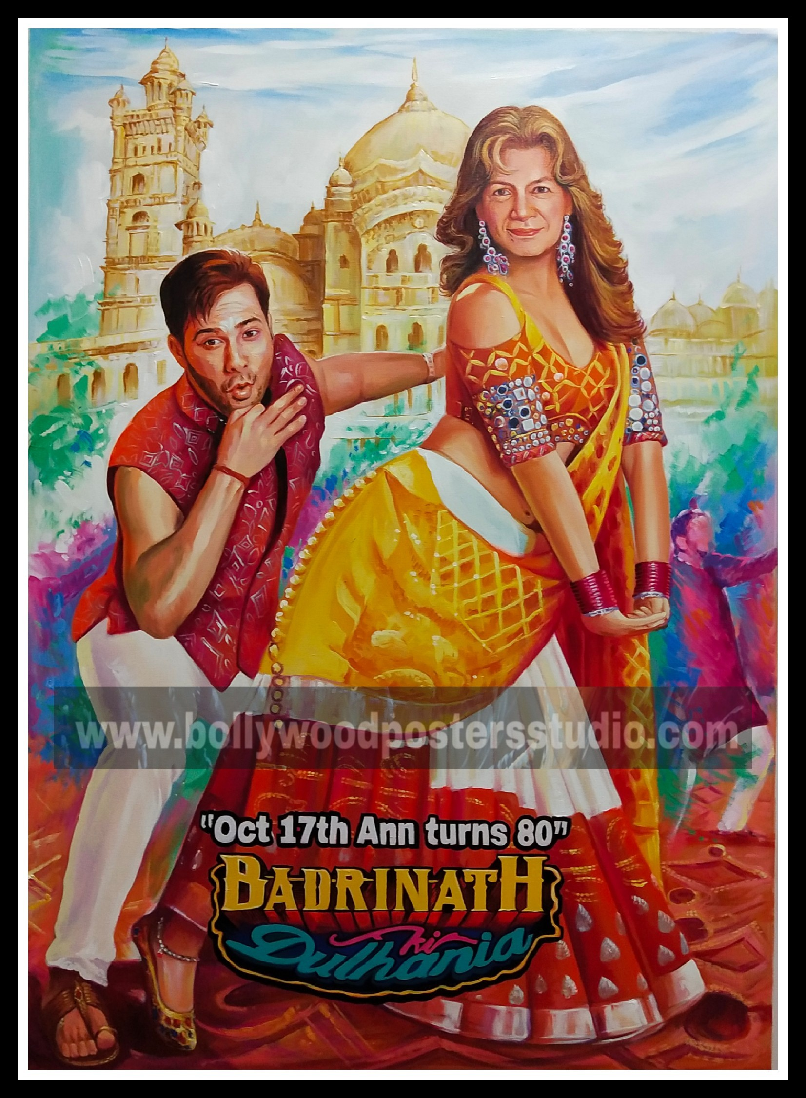 bollywood customised poster with your favourite actor